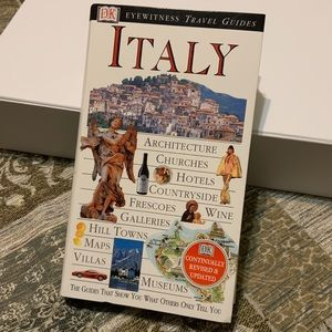 📚ITALY EYEWITNESS TRAVEL GUIDES PAPERBACK BOOK
